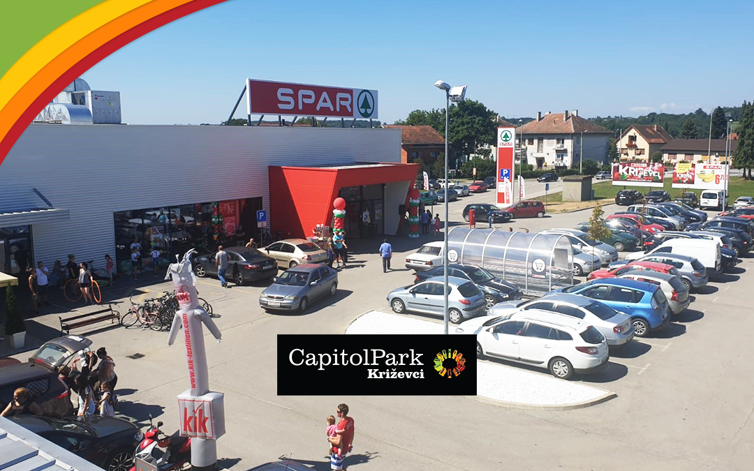 Capitol Park Križevci opens three stores today